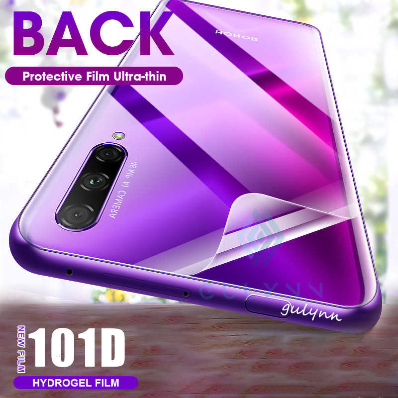 101D Back Protective Screen Protector Hydrogel Film For Huawei P30 Mate 30 Honor 9 10 20 Lite Pro Screen Protector Hydrogel Film