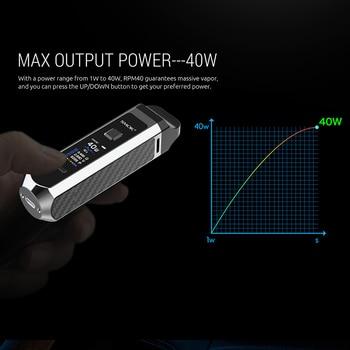 SMOK – Kit de vapoteur pour Cigarette électronique, 40W, 40 tr/min, batterie 1500mAh, cartouche 4.3ml, maille 0,4 ohm, bobine 4.5ml, Nord Pod