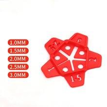 50 шт 5 размеров съемная керамическая плитка керамический зазор
