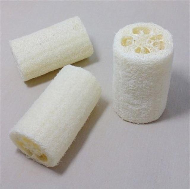 1pc/lots Natural Loofah Luffa Loofa Bath Body Shower Bathing Massage Spa Scrubber Horniness Remover Bathing Massage Sponge 3