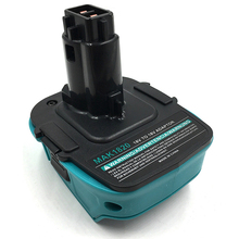 MAK1820 Adapter Converter for Makita 18V Li-Ion Battery BL1830 BL1860 for Dewalt DC9096 Ni-Cd Ni-Mh Battery Tools