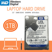 Disk Notebook Hard-Drive 16m Cache Internal Hdd Wd Blue Laptop Sata-Iii 5400-Rpm 1TB