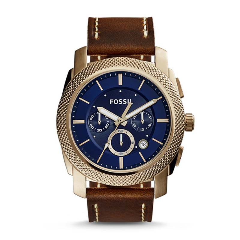FOSSIL Vintage Watch for Men Machine Chronograph Luxury Brand Male Business Wrist Watch reloj fossil hombre FS5159P