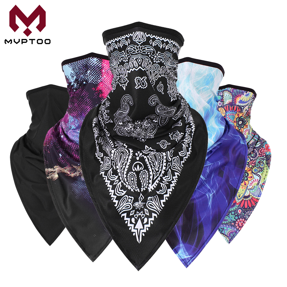 New Balaclava Motorcycle Face Mask Neck Gaiter Ring Tube Scarf Moto Bandana Quick Drying Head Shield Headband Men Girls 2019
