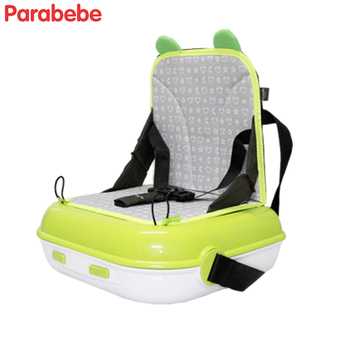 high-quality portable highchair plastic booster seat for baby travel feeding baby chair green red blue kids chair тюбинг sweet baby rider 90 red blue