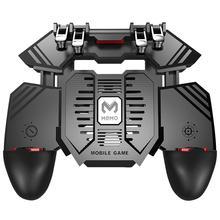 AK77 кулер для телефона игровой веер контроллер ручка 6 палец триггер джойстик для PUBG
