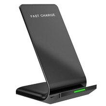 Chargeur sans fil 10W Qi certifié rapide sans fil support de Charge pour la plupart des mobiles haute puissance Induction rapide Charge support pour téléphone