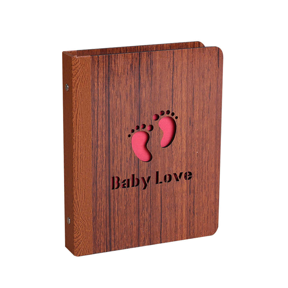 6 Inch 32 Sheets Memory Record Carved Letters Baby Diary Durable Wedding Kids Gift Photo Album Stamp Anniversary Couples