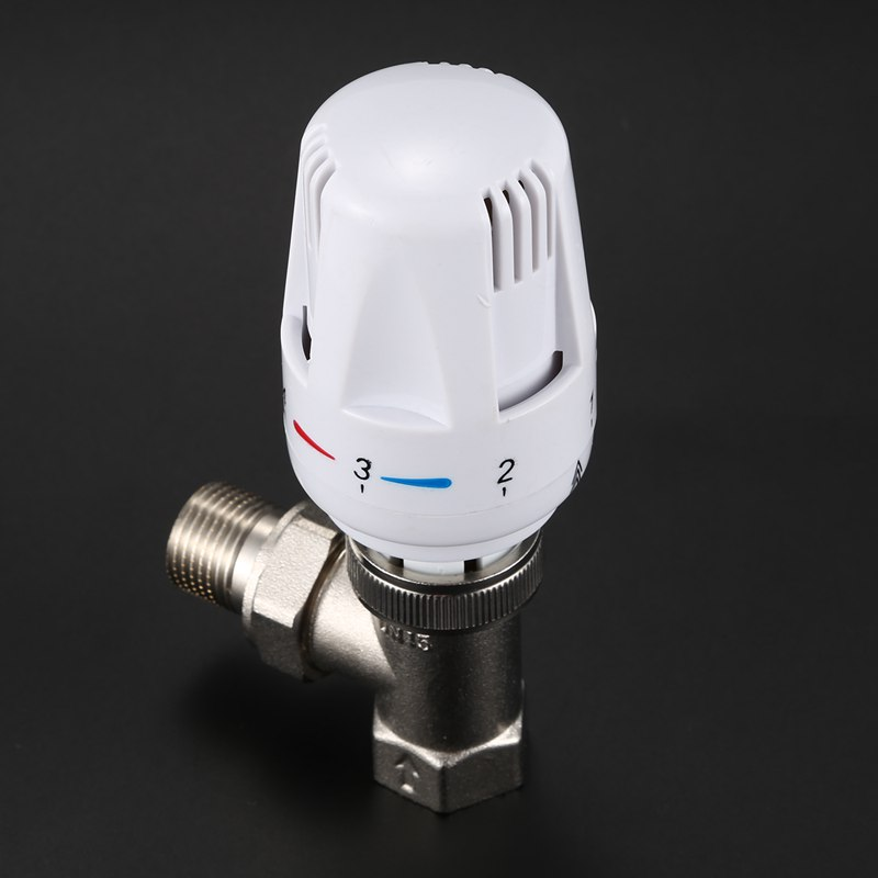 Hot Sale DN15 Automatic Temperature Control Valve Angle Floor Heating And Heating Special Valve