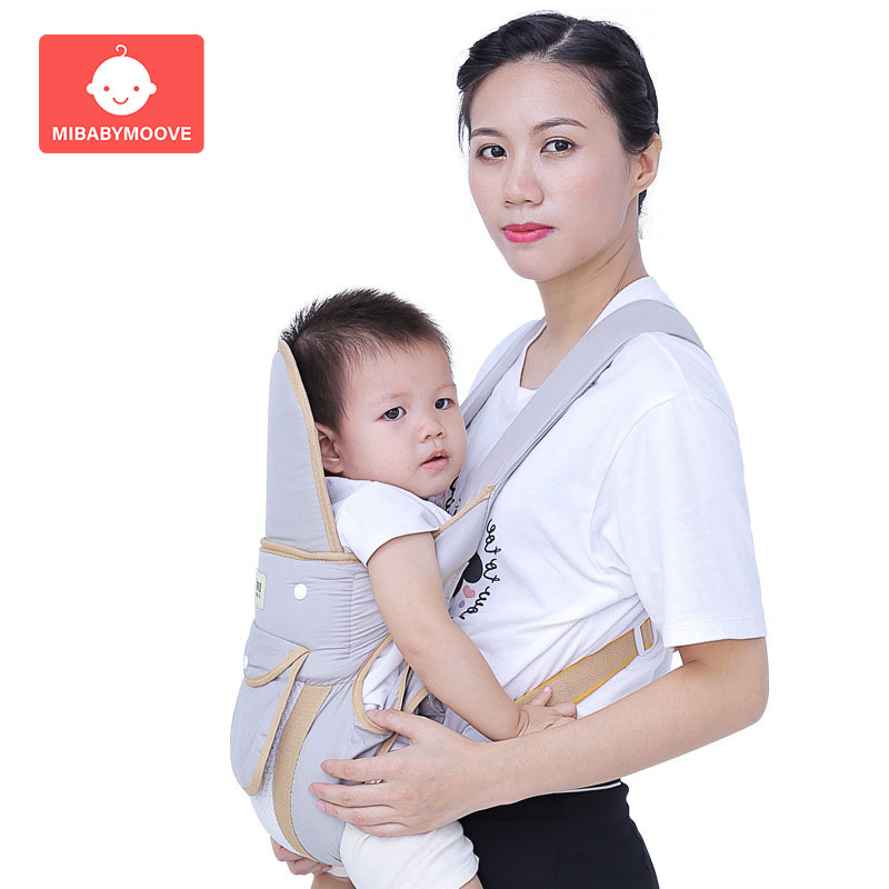 Ergonomic Baby Carrier Infant Kid Baby Hipseat Carrier Front Facing Kangaro0o Baby Wrap Carrier Sling For Baby Travel 2-24 M