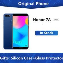 Telefone global da honra 7a do firmware 5.7 fullfullfullview 1440*720 snapdragon 430 android 8.0 sim duplo 13.0mp 3000mah smartphone lte
