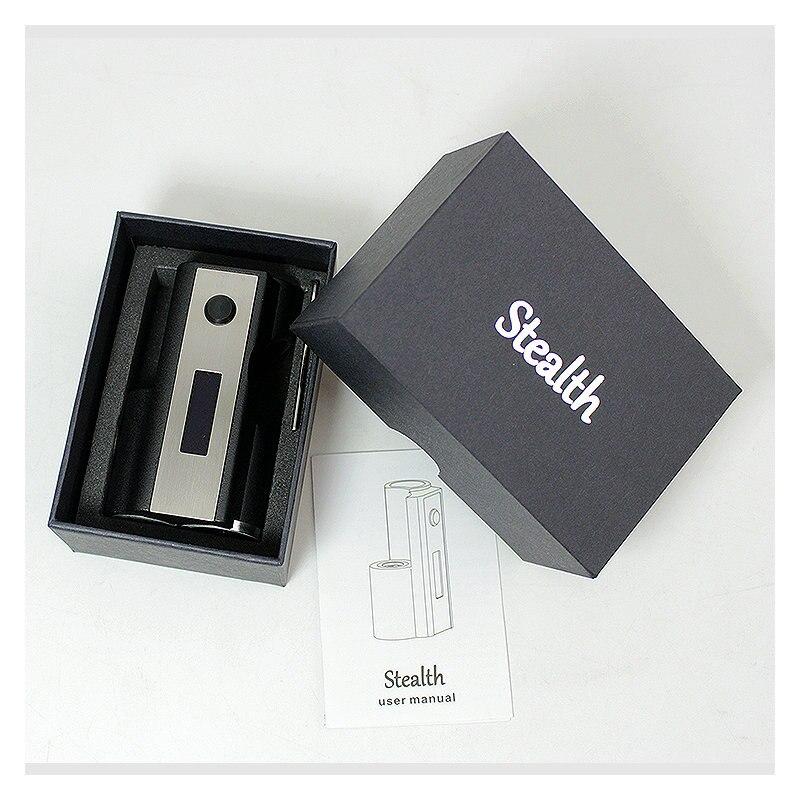 SXK Stealth 60W boîte mod squonk mod vape fit 18650 batterie Mods de cigarettes électroniques - 6