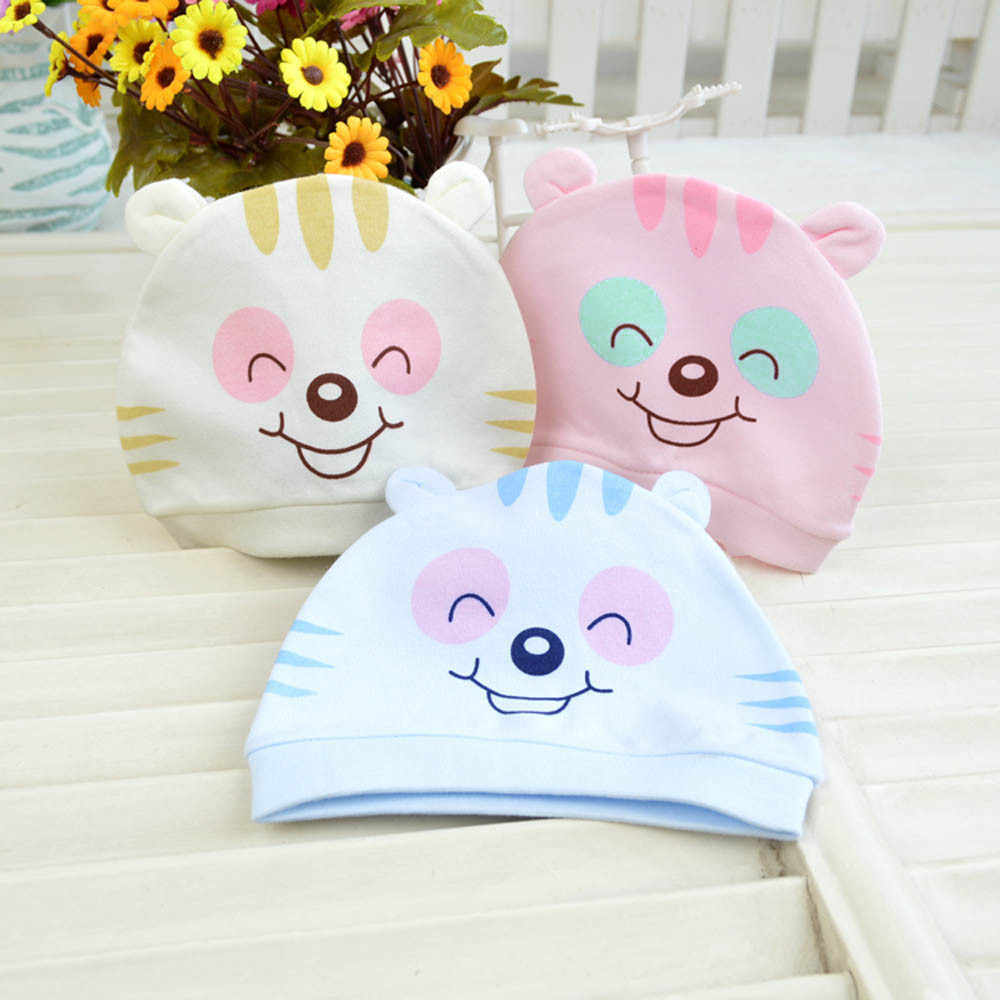 หมวกเด็กแมวแมวการ์ตูนสำหรับเด็ก 2019 ฤดูหนาวเด็กทารกเด็กวัยหัดเดินเด็กหญิงน่ารักน่ารัก Beanie หมวกหมวกอุปกรณ์เสริม beanie Infantil