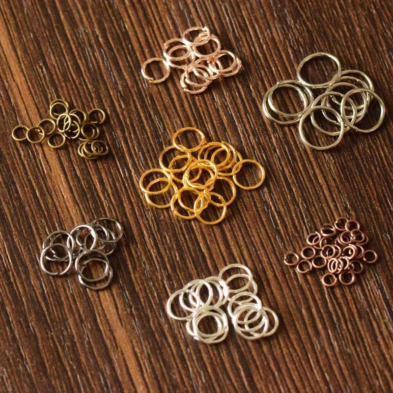 DIY Making Connectors Bracelet Earring Pendant Necklace Jewelry-Crafts-Accessories Jump-Rings