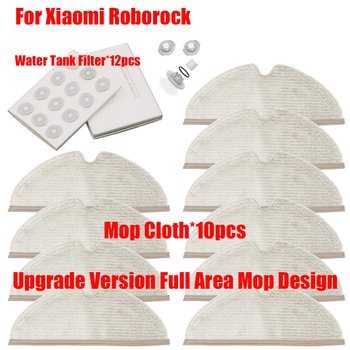 Water Tank Filter Rags Parts For XiaoMi Roborock S50 S51 S52 S55 T60 T61 E20 E25 E35 C10 T4 T6 Mop Cloth Accessories