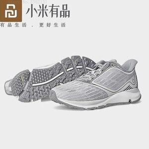 Image 2 - Youpin Zapatillas de correr Antelope para Xiaomi Amazfit, calzado deportivo inteligente de goma con Chip inteligente y Control por aplicación