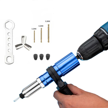 Drill-Adapter Insert-Nut-Tool Rivet-Gun Electric