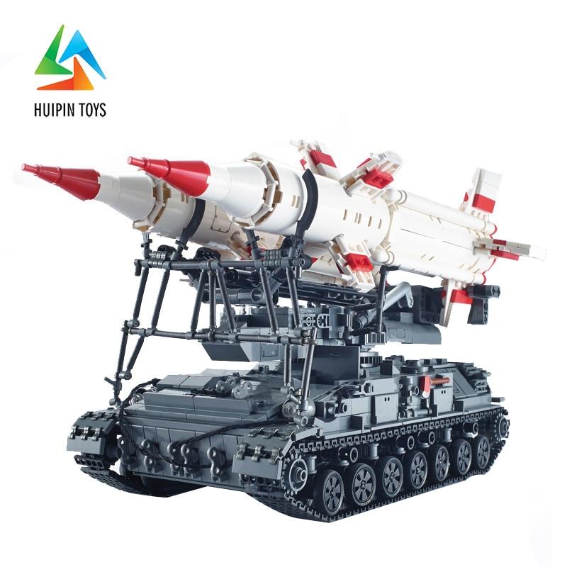1469Pcs XINGBAO Building Blocks XB-06007 легоe Military Series MOC SA-4 GANEF Missile Vehicle Tank Model Children Toy 4PX 1