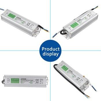 цены Power Supply 12V 24V Lighting Transformer Power Supply 220V To 12 24 V Volt LED Driver 10W 15W 20W 25W 30W 45W 50W Waterproof