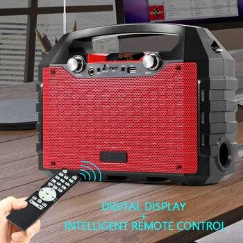 Altavoz Bluetooth 40w Portátil Inalámbrico Al Aire Libre Altavoces De Gran Potencia Soundbox Con Control Remoto Compatible Con Radio Fm Mic Tf Aux Usb Partypieces Se