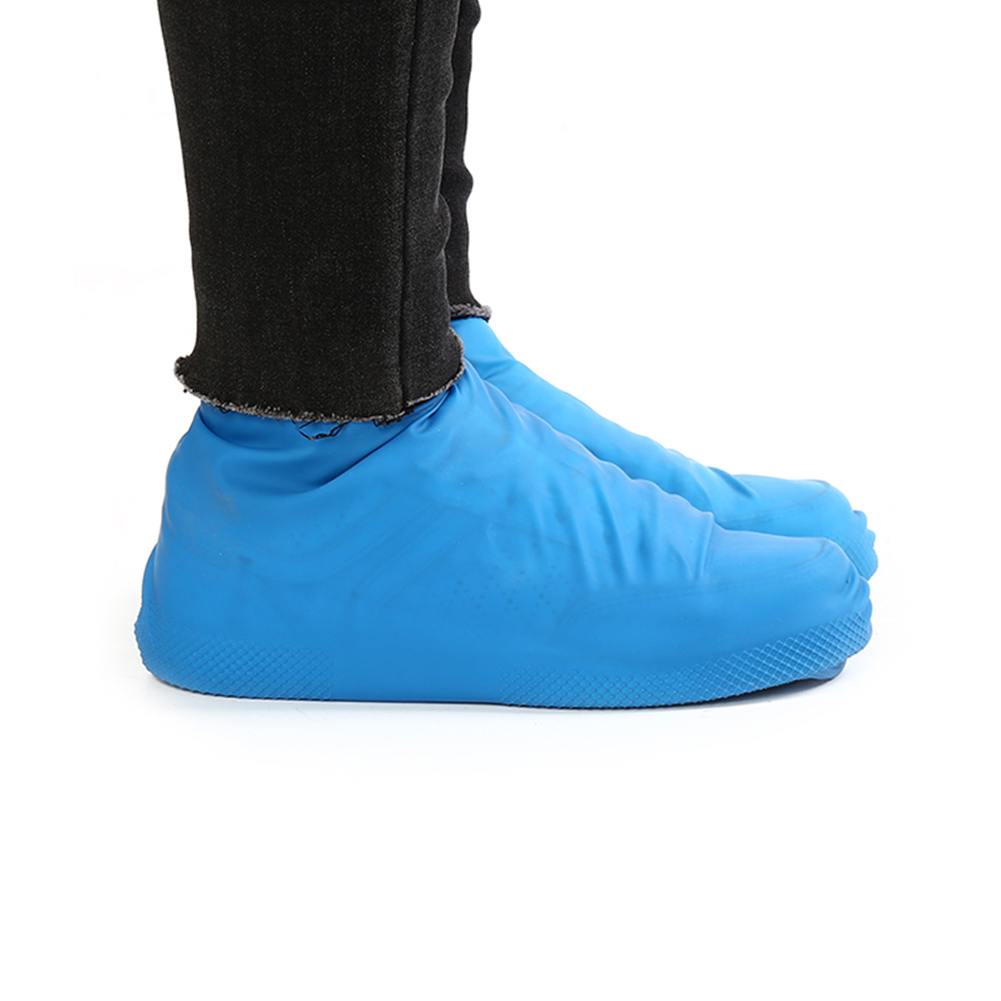 Waterproof Shoe Covers of Latex Material for Unisex to Protect Shoes from Dust and Mud in Rainy Days Suitable for Indoor and Outdoor 4