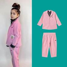 Kids Jacket 2019 B Loves Brand New Autumn Winter Boys Girls Retro Pink Coat Baby Child Corduroy Clothes Outwear Wedding Suit(China)