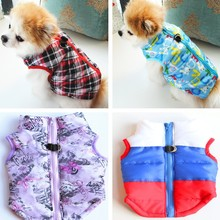 Small Dogs Dog-Coat Jacket Yorkie-Clothing Chihuahua Waterproof Winter Ropa Pattern Flowers