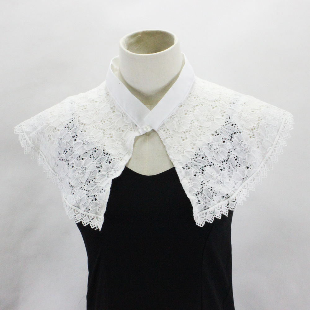 Lace Shawl Dickie Camisole Vest Decoration Lead Fake Collar Detachable Necklace