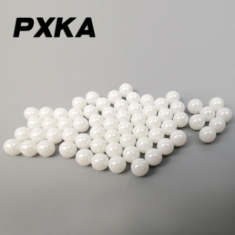 20pcs Dia 7mm Ceramic Bearing Ball ZrO2 Zirconia Oxide Ball New