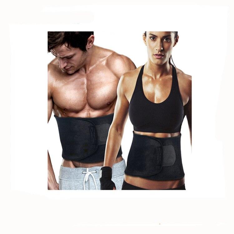 Fitness Belt Storm Sweatband Sports Waist Support Squat Weightlifting Belt Neoprene Belly Belt