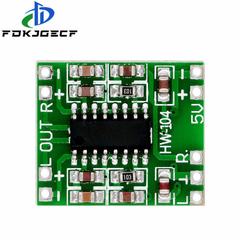 PAM8403 โมดูล Super MINI DIGITAL Amplifier BOARD 2*3W Class Digital Amplifier BOARD มีประสิทธิภาพ 2.5 ถึง 5V