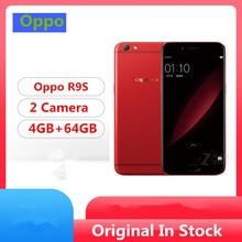 "Международный ПЗУ Oppo R9S 4G LTE мобильный телефон Snapdragon 625 Android 6,0 5,"" ips 1920x1080 4 ГБ ОЗУ 64 Гб ПЗУ 16.0MP отпечаток пальца"