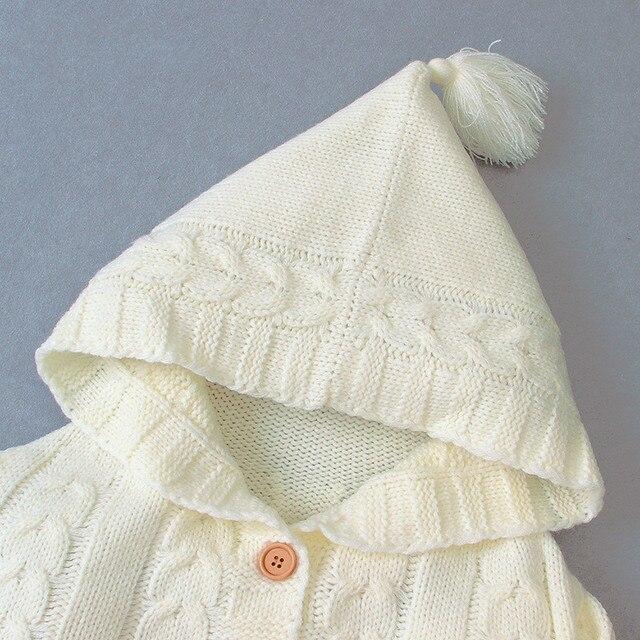 Baby Knitting Warm Blanket Sleeping Bag Footmuff Soft Cotton Envelope New Born Boy Girl Swad Wrap kid Sleep sacks Fashion babies