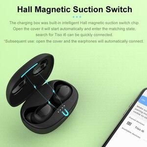 Image 4 - Tiso i6 double mode sans fil écouteurs contrôle tactile sans couture Bluetooth 5.0 casque antibruit micro 3D TWS stéréo casque
