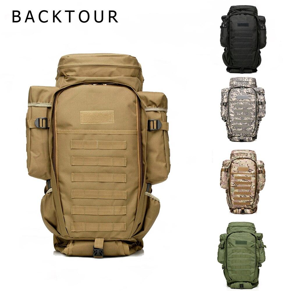 Sac à dos en plein air Molle militaire tactique sac à dos sac de sport étanche Camping randonnée Trekking sac à dos pour voyage