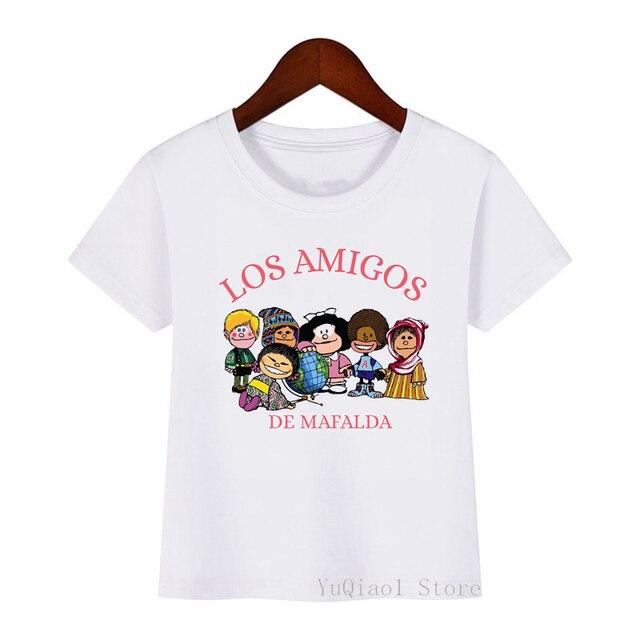 Фото 2021 летние топы для девочек футболки детская одежда забавная цена