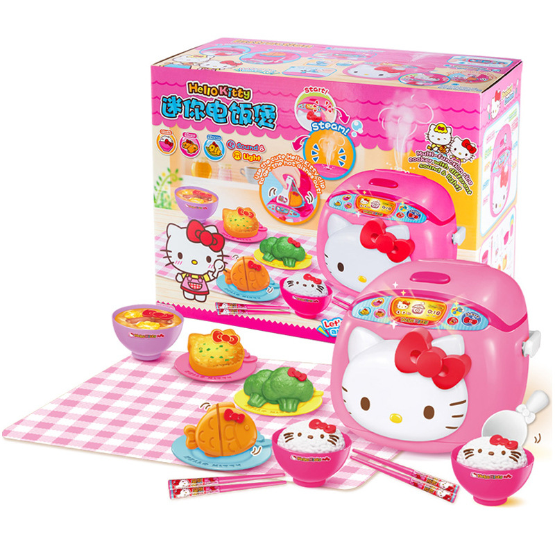Hello Kitty Hello Kitty Mini Rice Cooker Kitchen Series GIRL'S Play House Cooking CHILDREN'S Toy