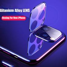 Película protectora de vidrio templado para funda de iPhone 11 Pro Max 219 Protector de pantalla de lente de cámara en iPhone 11 Pro 5,8