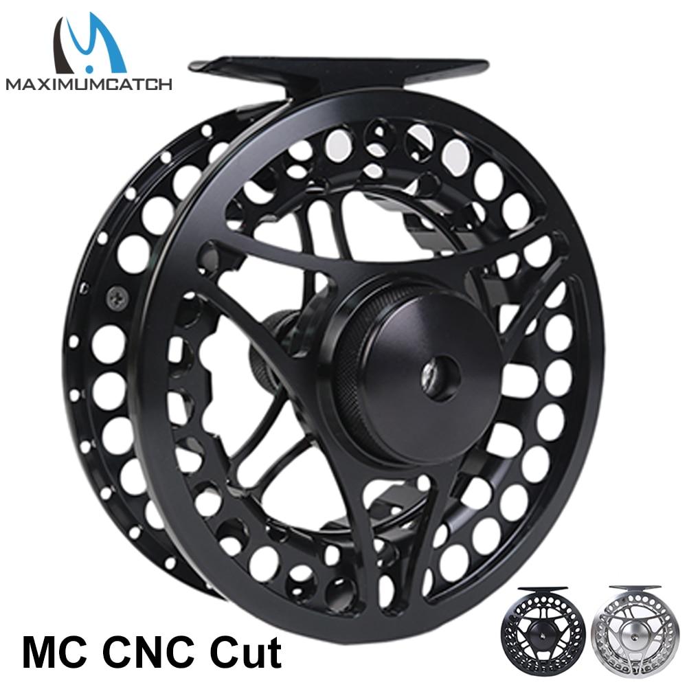 Maximumcatch MC 2 11 weight CNC Machine Cut Fly Reel Large Arbour Aluminum Black Fly Fishing Reel|fly fishing reel|fly reel|fishing reel - title=