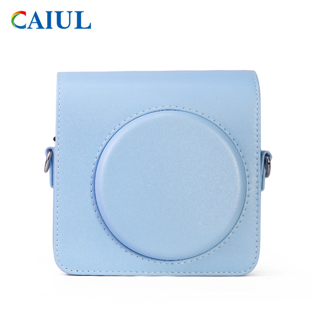 FUJIFILM Instax SQUARE SQ1 Camera Bag 4 colours Vintage PU Leather Case Shoulder Strap Pouch Carry Cover Protection 3