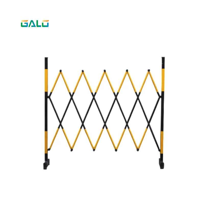 Warning safety fence steel pipe expansion fence to protect the structural isolation of the movable barrier