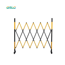 Warning safety fence steel pipe expansion to protect the structural isolation of movable barrier