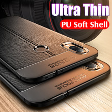 Luxury Leather Texture PU Soft Case For Xiaomi Redmi Note 7 6 Pro K20 5 PLus 5A 6A 7A Silicone Bumper Cases Shockproof Shell(China)