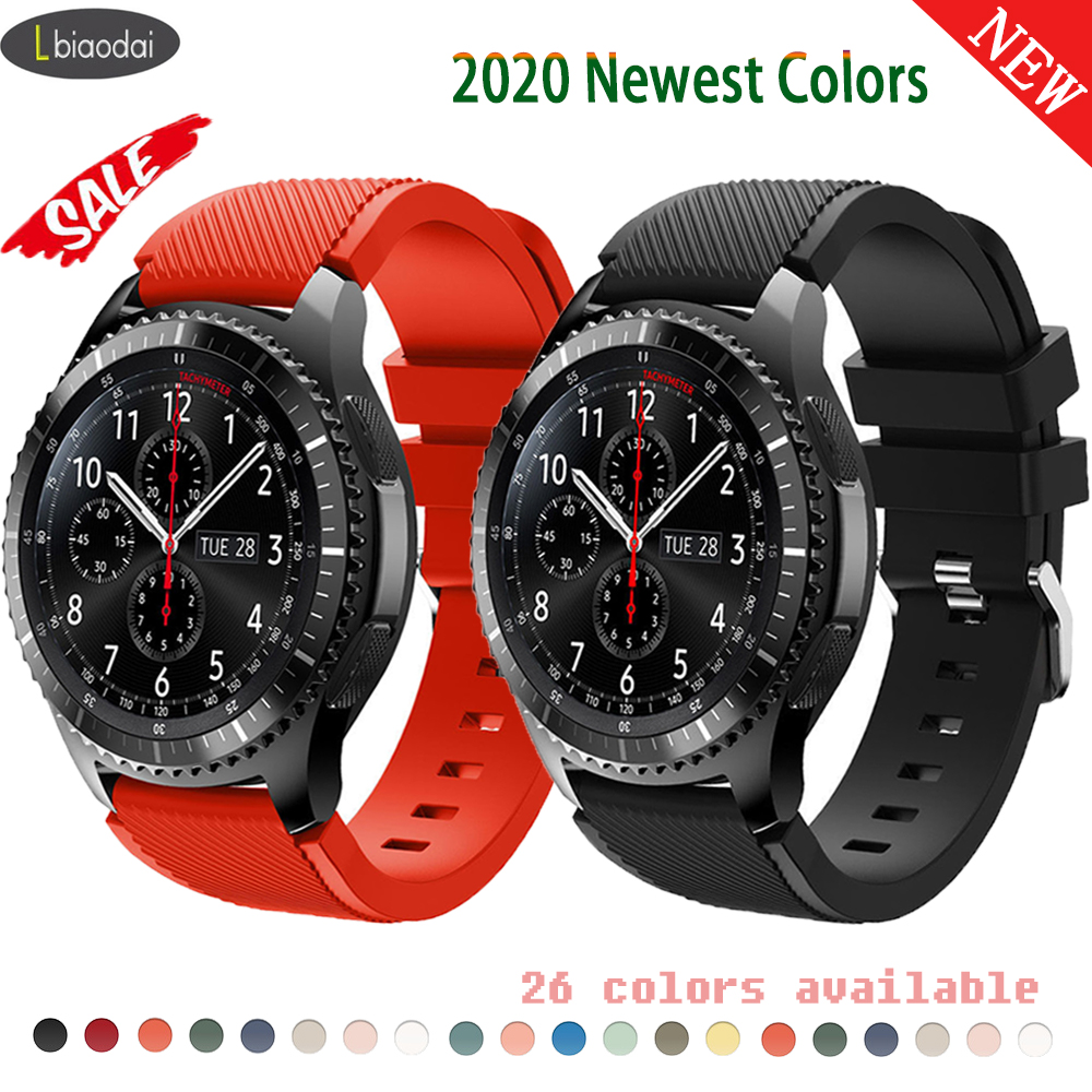 22mm 20mm Watch Band For Samsung Galaxy Watch 46mm 42mm Huawei Watch Gt 2 Strap Gear S3 Frontier Active 2 S2 Amazfit Bip 22 Mm