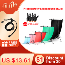 Background Frame Photography Backdrop T shaped Background Support Stand System Metal backgrounds for photo studio Multiple size