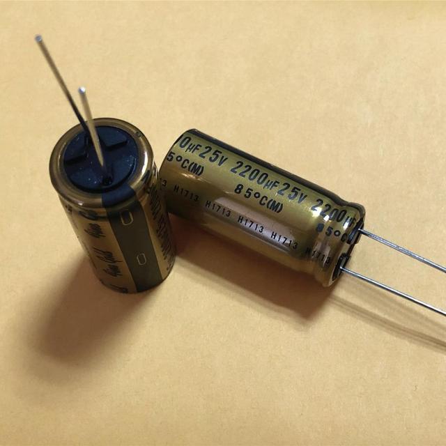 4PCS NICHICON FG 25V2200UF 16x35.5MM בסדר זהב 2200UF 25V פיינגולד 2200UF25V MUSE אודיו קבלים 2200 UF/25 V