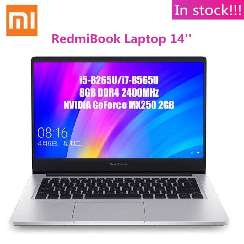 Ноутбук Xiaomi RedmiBook 14 ''Intel Core i7-8565U NVIDIA GeForce MX250 четырехъядерный 8 Гб ОЗУ 512 ГБ SSD ноутбук 1920x1080 (FHD)