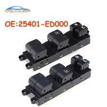 Auto zubehör Links & Rechts Seite Elektrische Power Fensterheber Master Control Schalter 25401-ED000 25401ED000 Für Nissan Tiida