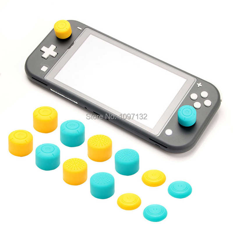 Silicone Joy Con Analog Thumb Stick Grips Caps For Nintend Switch NS JoyCon Controller Thumbsticks Cap Skin For Switch Lite Cove