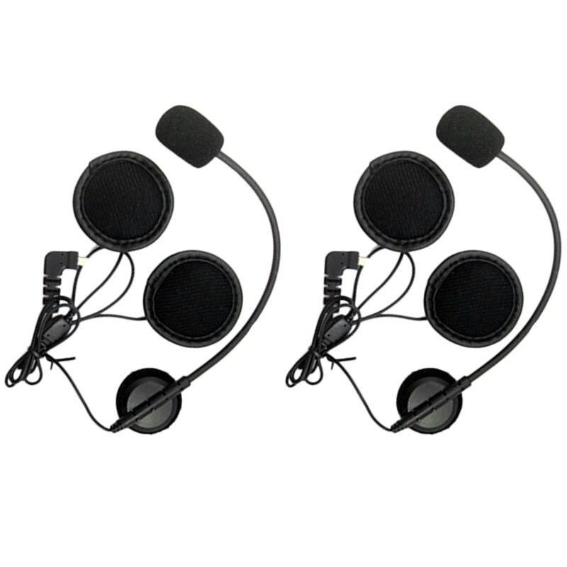 Earpiece Microphone For BT-S2//BT-S1 BT Headset Intercom Motorcycle Interphone
